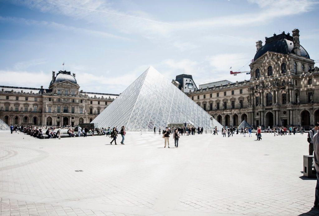 The Louvre, Paris of 2010